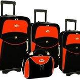 Чемодан, дорожная сумка набор 4в1, 3 чемодана Кейс Польша. В.