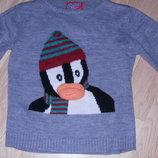 новогодний свитер 3Д. 9-10 лет