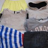пакет одежды на девочку 11-14 лет 146-158 рост 6 вещей