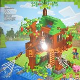 Конструктор My World домик на дереве, 443 детали