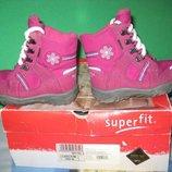 Сапоги ботинки термо Superfit Gore -Tex 25-26 размер,по стельке 15,5 см. Кожаные.зимние.в идеальном
