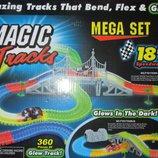 Трек-Конструктор Magic Tracks 360 элементов 2 машинки