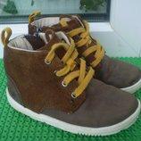 демисезонные ботинки Clarks 7 F , стелька 14.5 см