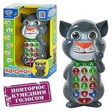 Котофон повторюшка,сказки умный телефон,интерактивные игрушки