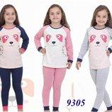 Пижама Baykar для девочки от 4 до 10 лет