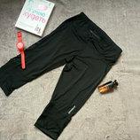 Спортивные штаны бриджи с боковыми вставками 40/42