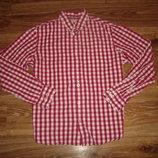 Рубашка John Lewis, размер XL, с длинным рукавом, плотный хлопок