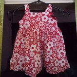 платье для девочки 3-6 м