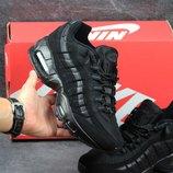 Кроссовки подросток Nike 95 black 36-41р