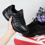 Кроссовки кожа Nike 95 black