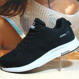 Кроссовки женские Adidas Neo черн-белый 36р-40р