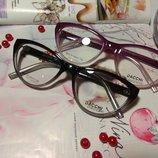 Цветные яркие оправы очки cateye - роскошные кошечки- установка любых линз