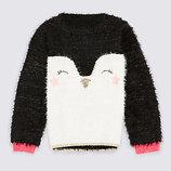 красивый свитерок для малышки от Marks & Spencer на 9-12 мес. Англия