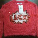 красивые свитерки для девочек от Marks & Spencer на 7-8, 9-10 лет