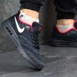 Кроссовки мужские Nike Air Max dark blue/red