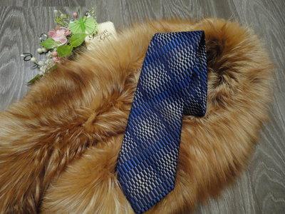Стильный яркий галстук шелк