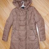 Пуховое пальто на вырост , подойдет для будущих мам
