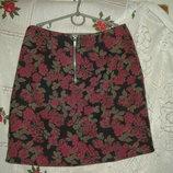 Супер юбка look р.6,румыния,61%коттон,32%полиэст