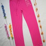 Фирменные яркие трикотажные спортивные брюки с начесиком Hollister оригинал.