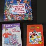 Детские книги на английском Where's Wally, Goofy's Amazing House, Dad's Birthday