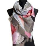 Новинка коллекция весна Красивые весенние шарфы абстракция