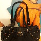 Фирменная,идеальная,кожаная сумка Marta Ponti Португалия.оригинал