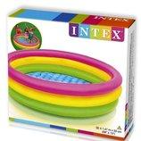 Бассейн детский надувной Intex 57422 Радуга 147х33 см