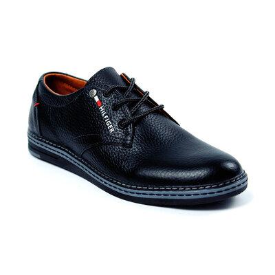Мужские кожаные туфли Tommy Hilfiger Д7