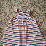 Футболочка туничка George футболка для девочки, р. 92-98