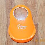 Фирменный слюнявчик для кормления для ребенка 3-12 месяцев