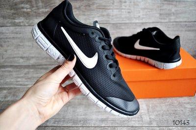 93faa536 Кроссовки мужские сетка Nike Free Run 3.0 black/white: 750 грн ...