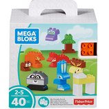 Mega Bloks Конструктор Мой дружный лес 40 деталей My Friendly Forest Building Set