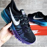 Кроссовки женские Nike Air Max 2017 black/purple/blue