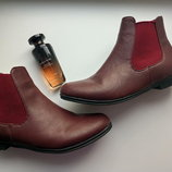 Качественные ботинки челси 39р. 25,5 см pep&co