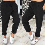 Стильные спортивные брюки,л