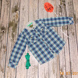 Стильная рубашка Baker для мальчика 4-5 лет, 104-110 см
