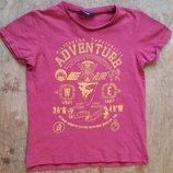 футболка от George на мальчика 7-8 лет 122-128см б/у в очень хорошем состоянии