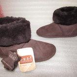Сапоги Угги 100% Натуральная Овчина ~J.U.S.T SHEEPSKIN ~ р 35-36 Новые
