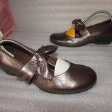 Супер Туфли Натуральная Кожа ~RIVA~ Италия Оригинал р 39