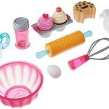 Just Play Набор кухонных аксессуаров Набор пекаря Barbie Pastry Set Roleplay
