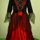 карнавальное платье на 9-10 лет