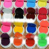 Цветные гели сосо набор 24 штуки