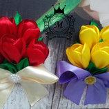 Букетик-Магнит на холодильник - подарок милой даме,8 Марта