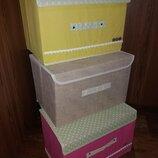 Ящик-Чемодан текстильный 38 на 25 см