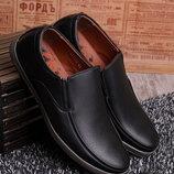 Мужские туфли без каблука в наличии новые 40-45 р
