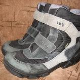Мембранные зимние термо сапоги ботинки Ecco 38р-24.5см