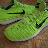Кроссовки Nike Free RN Flyknit оригинал 39 размер-длина стельки-25 см