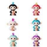 WowWee Fingerlings - Interactive Baby Monkey Оригинал Интерактивная обезьянка на палец