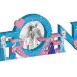 Фоторамка деревянная Disney Ледяное Сердце оригинальный подарок для девочки