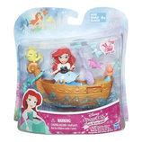 Набор для игры в воде маленькая кукла Принцесса и лодка русалка ариэль